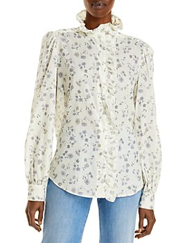 See by Chloé - Ruffled Floral Top