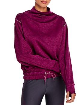 PUMA - Forever Luxe Mock Neck Sweatshirt