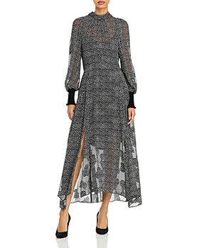 Rebecca Taylor - Printed Maxi Dress