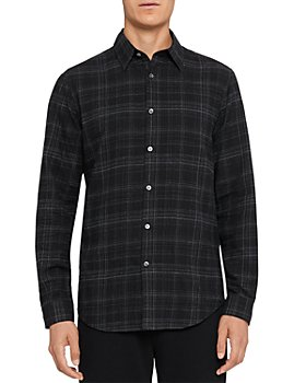 Theory - Irving Flannel Plaid Shirt