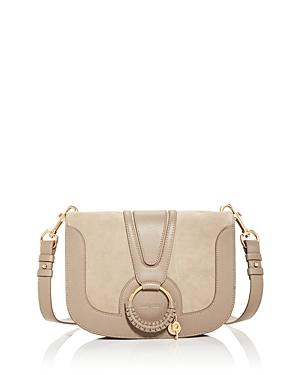 See by Chloe Hana Leather & Suede Medium Shoulder Bag