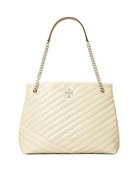 Tory Burch - Kira Chevron Textured Leather Tote