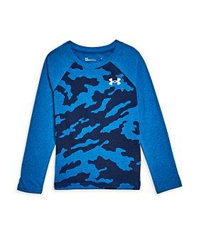 Under Armour - Boys' Fury Camo Baseball Shirt - Little Kid