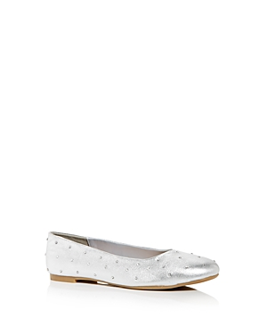 Steve Madden Girls' JNellie Embellished Ballet Flats - Little Kid, Big Kid