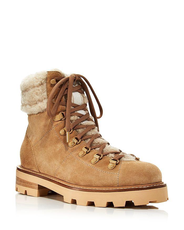 Jimmy Choo - Women's Eshe Shearling Hiking Boots
