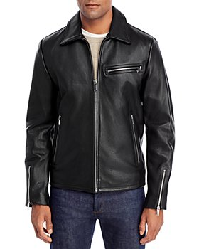 KARL LAGERFELD PARIS - Leather Motocross Jacket
