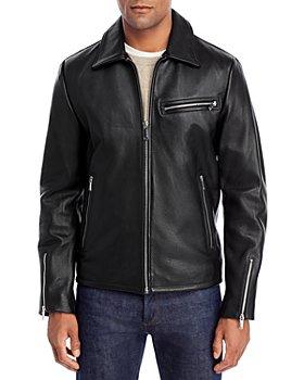 KARL LAGERFELD PARIS - Leather Motocross Jacket