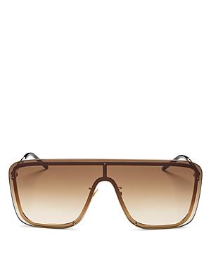 Saint Laurent Unisex Mask Shield Sunglasses, 99mm