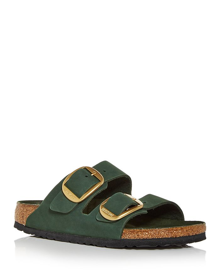Birkenstock - Women's Big Buckle Mountain View Slide Sandals