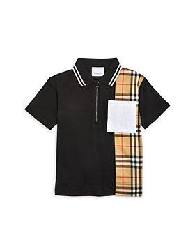 Burberry - Boys' Matthew Vintage Check Piqué Shirt - Little Kid, Big Kid