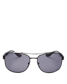 Prada - Men's Pillow Brow Bar Aviator Sunglasses, 61mm
