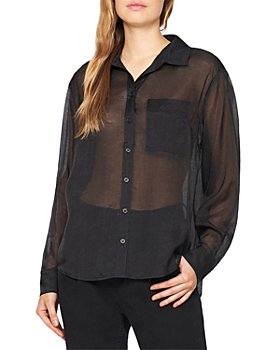 Sanctuary - Sheer Bliss Button Front Top