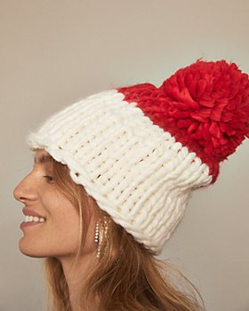 Free People - Cozy Up Color Blocked Beanie
