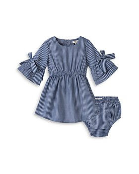 Habitual Kids - Girls' Striped Flare Sleeve Dress - Baby
