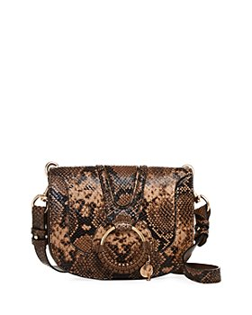 See by Chloé - Hana Small Python-Print Crossbody