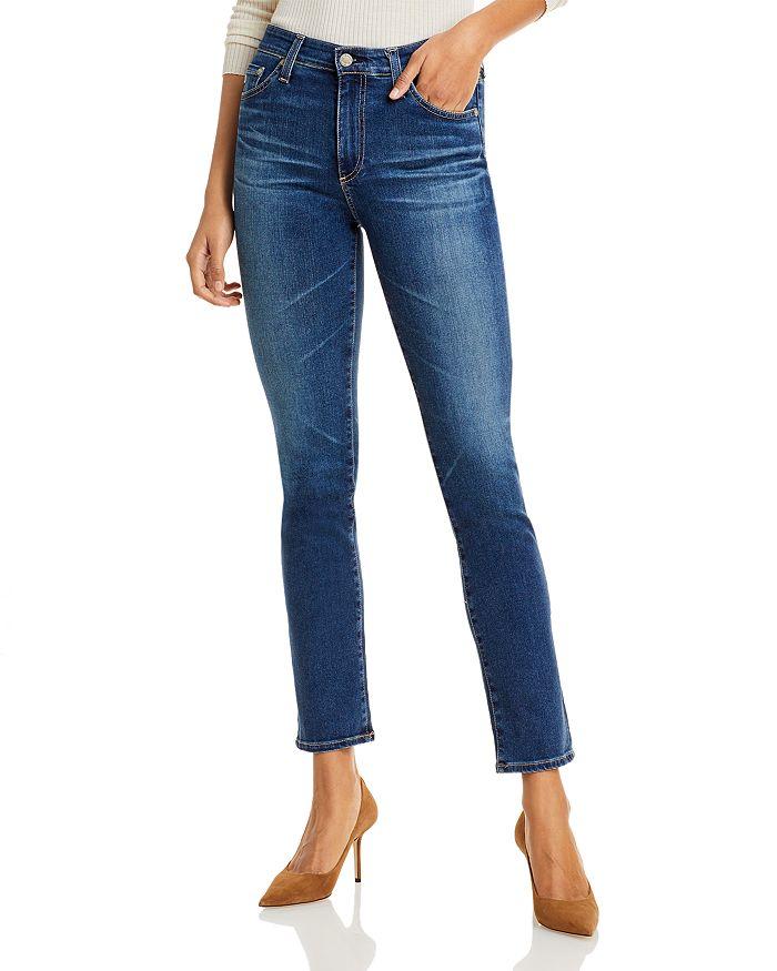 AG - Mari Straight-Leg Jeans in 7 Years Timeless