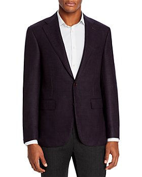 Canali - Capri Textured Solid Slim Fit Sport Coat