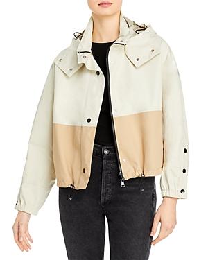 Moncler Akhamar Color Blocked Hooded Jacket