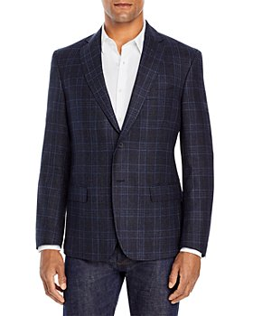 Dylan Gray - Tonal Plaid Regular Fit Sport Coat