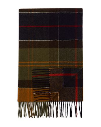 Barbour - Inverness Tartan Wool Scarf