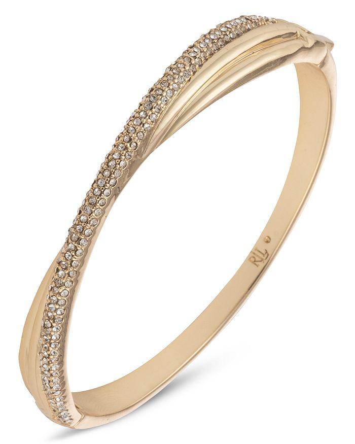 Ralph Lauren - Pave Twist Bangle Bracelet