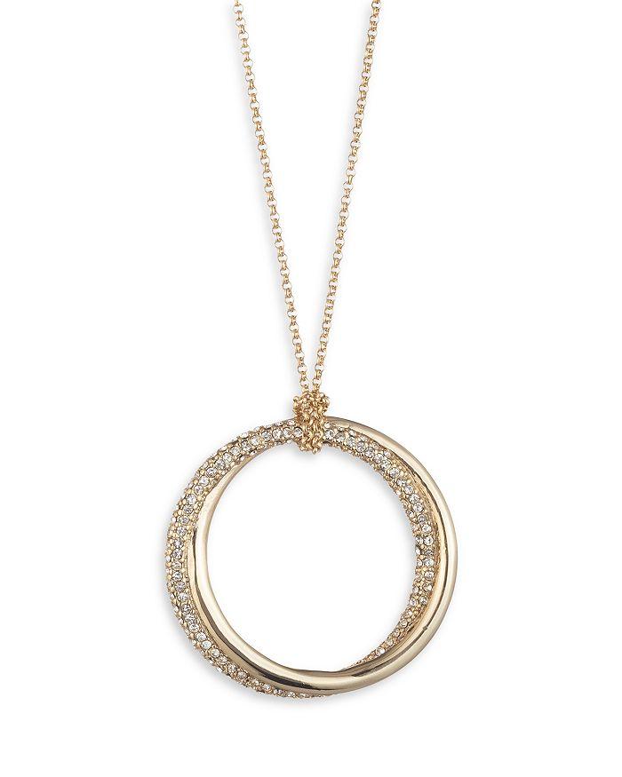 """Ralph Lauren - Pave Twist Pendant Necklace, 36"""""""
