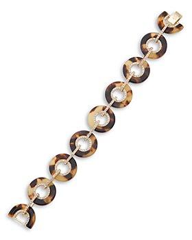 Ralph Lauren - Circle Link Pave Bracelet