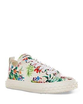 Giuseppe Zanotti - Women's Flower Print Blabber Sneakers
