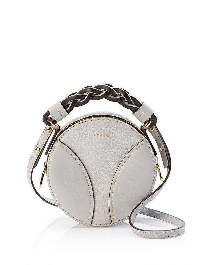 Chloé - Daria Mini Round Leather Crossbody