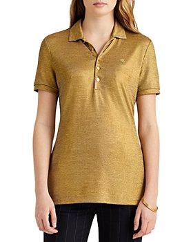 Ralph Lauren - Foil Print Polo Shirt