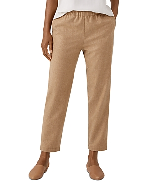 Eileen Fisher Wools WOOL TAPERED ANKLE PANTS