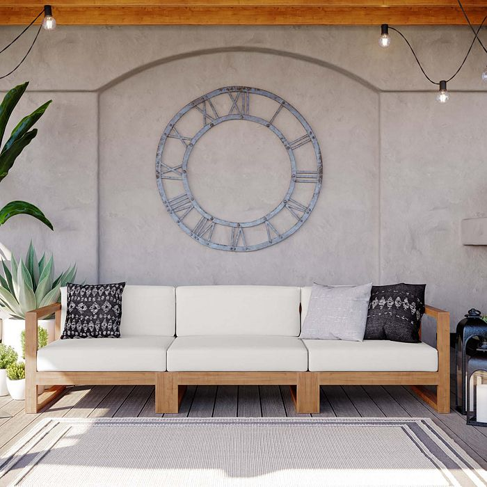 Modway Upland Teak Wood Outdoor Patio, Modway Outdoor Furniture