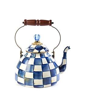Mackenzie-Childs - Royal Check 3-Quart Tea Kettle