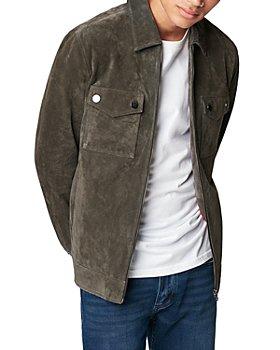 BLANKNYC - Tarmac Suede Shirt Jacket
