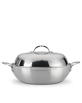 """Hestan - ProBond™ 14"""" Forged Stainless Steel Wok & Lid"""