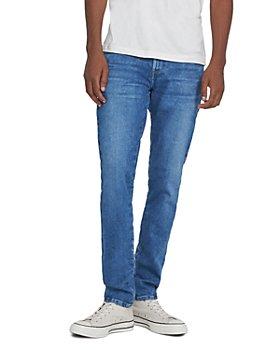 """J Brand - Mick 32"""" Skinny Fit Jeans in Jindo"""