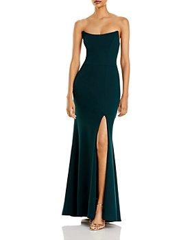 AQUA - Strapless Gown - 100% Exclusive