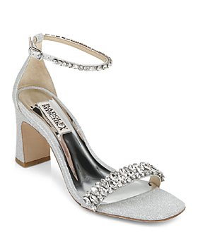 Silver Wedding Bridal Shoes Prom Evening Shoes Bloomingdale S