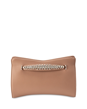 Jimmy Choo Venus Mini Leather Evening Clutch-Handbags
