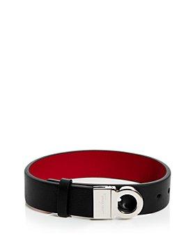 Salvatore Ferragamo - Gancini Leather Bracelet