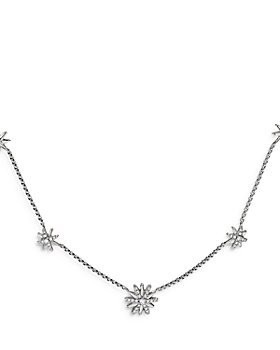 David Yurman - Starburst Station Necklace with Diamonds, 16""