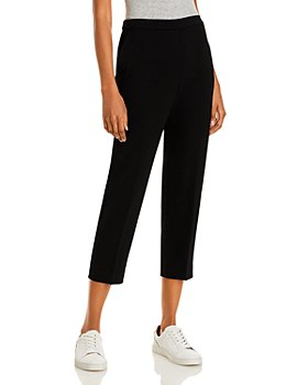 Theory - Treeca Crepe Pull-On Pants