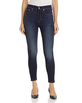 rag & bone - Nina High-Rise Ankle Skinny Jeans in Carmen