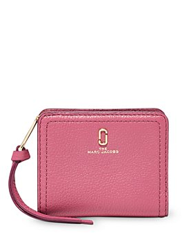 MARC JACOBS - Mini Compact Leather Wallet