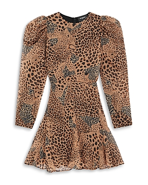 The Kooples ANIMAL PRINT MINI DRESS