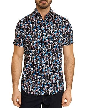 Robert Graham Jasper Classic Fit Short Sleeve Shirt