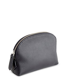 ROYCE New York - Pebbled Leather Compact Cosmetic Case