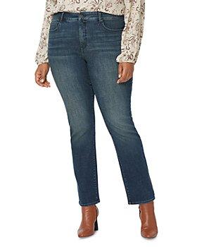 NYDJ Plus - Marilyn Straight-Leg Jeans in Prosperity