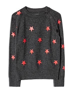 Zadig & Voltaire Girls\\\' Ava Star Sweater - Little Kid, Big Kid-Kids