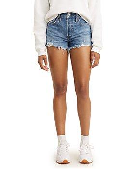 Levi's - 501 High Rise Denim Shorts